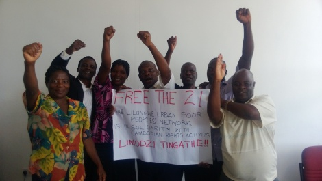 Solidarity from Malawi